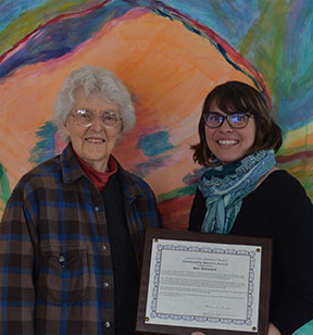 Stannard Recognized for Outstanding Service