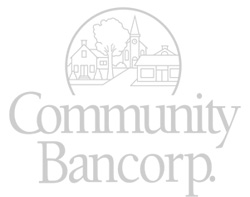 Community Bancorp. Logo